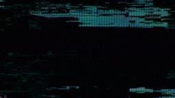 4k Digital Scanlines Glitch Noise