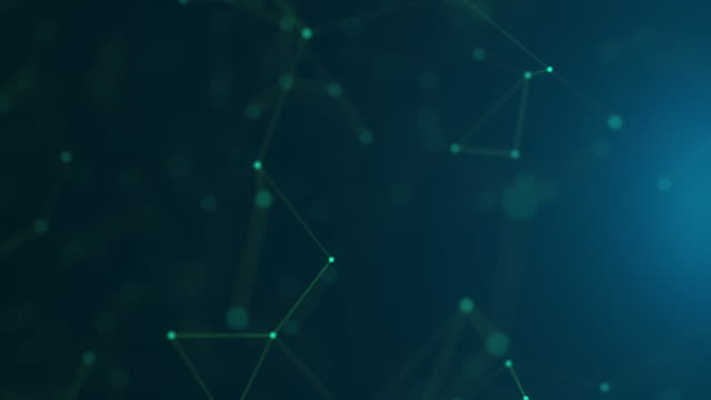 4k futuristic network: artificial intelligence, global communication - neuroscience stock videos & royalty-free footage