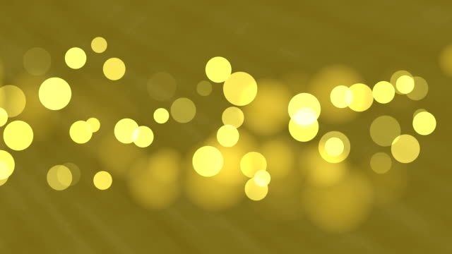 4k gold bokeh abstract light background - glowworm stock videos & royalty-free footage