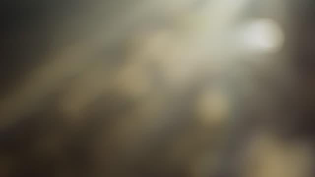 vidéos et rushes de 4k gold bokeh fond de lumière abstraite - metal texture