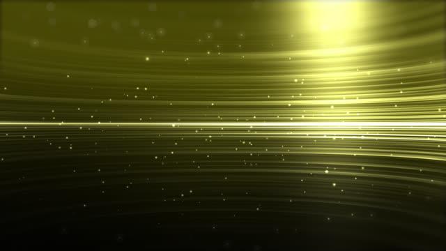 vidéos et rushes de 4k or stries lumière abstrait fond d'animation - metal