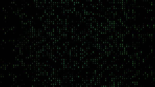数ゼロのたくさんの4k グラデーション、カラフルなバイナリコードは、株式市場や取引所、データ、ビッグデータ、ビジネスファイナンス、通信、インターネット、バーチャルリアリティの� - big data点の映像素材/bロール