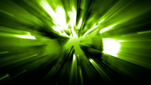 4k green energy effect background with power source spreading geometrical shapes triangles and rectangles and light leaks from the energy source before the explosion loopable video, sci-fi, techno,music event,energy,transportation,celebration concepts - transportation event stock videos and b-roll footage