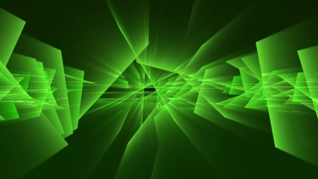 4k グリーン音楽祭ネオンの背景。シームレスループ - 発光色点の映像素材/bロール
