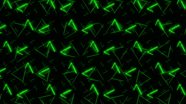 4k green triangle abstract pattern background - polka dot stock videos and b-roll footage