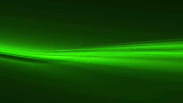 4k Green Wave Animation Background Seamless Loop