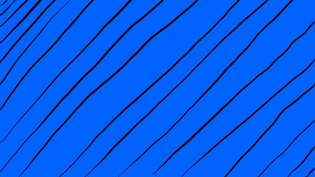 vídeos y material grabado en eventos de stock de 4k dibujo a mano esbozado dibujos animados lápiz de dibujos animados líneas sobre un fondo de color en stop motion style looped background video - lapiz