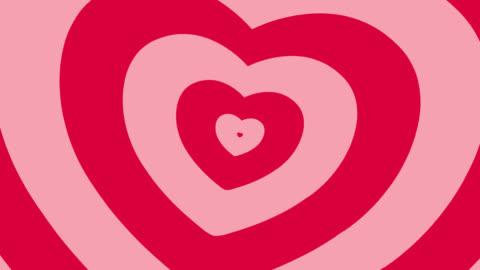 vidéos et rushes de 4 k : cœur animé fond - cartoon