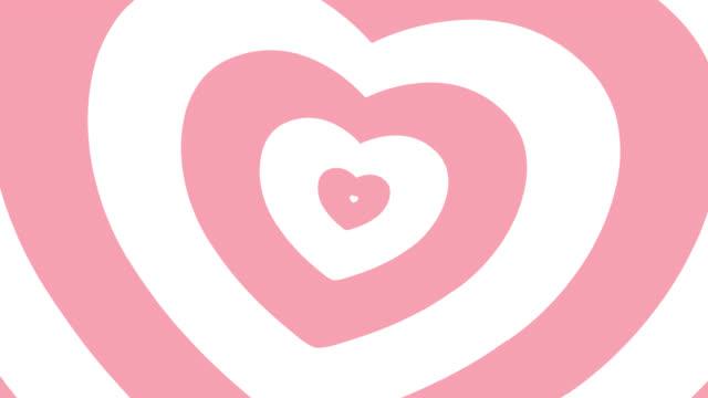 4k : Heart Animated Background