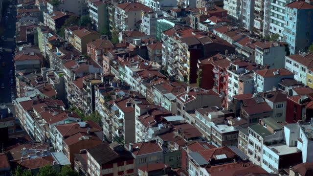 4k istanbul cityscape -  aerial view - istanbul stock videos & royalty-free footage