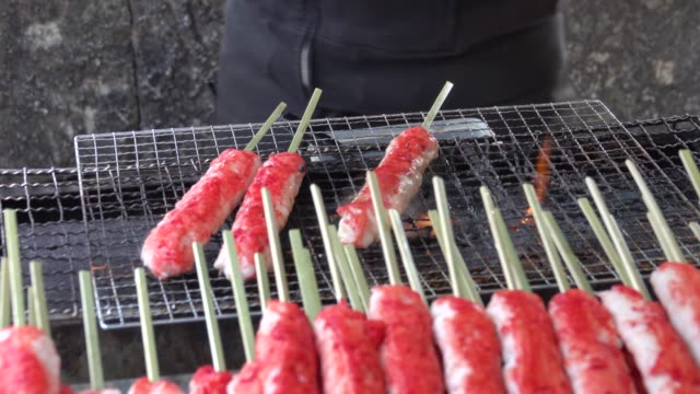 4k: Japan Street Foods variety of meal
