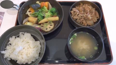 4k: japanese food - japanese food stock videos & royalty-free footage