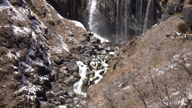 日光国立公園の4k華言の滝 - 急流点の映像素材/bロール