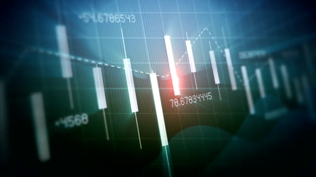4k loop financial chart background - efficiency stock videos & royalty-free footage