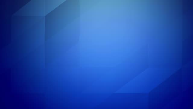 vídeos de stock, filmes e b-roll de 4 vídeo de low poly k de triângulos geométricos abstratos loopable plano de fundo azul - articulação facetária