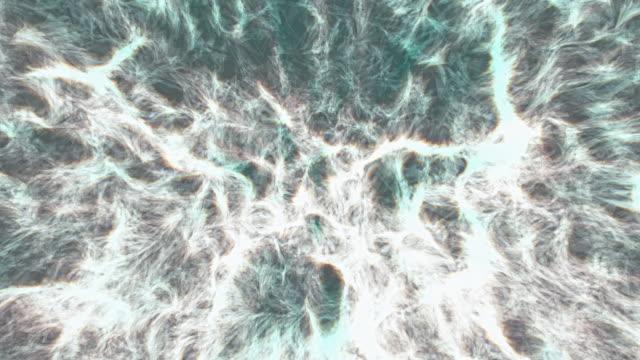 vídeos y material grabado en eventos de stock de 4k | red neuronal-visualización abstracta | la serie ai - neuronas