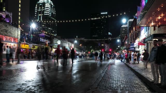 uhd 4k night time lapse austin, texas usa - austin texas stock videos & royalty-free footage