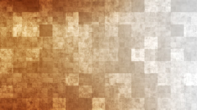 4k orange grid mosaic background - mosaic stock videos and b-roll footage