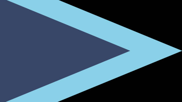 4k Pastel Blue Triangle Transition