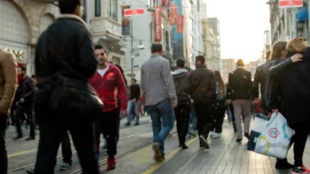 4k People in Istiklal Street