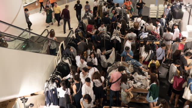4k - people shopping - sales occupation stock videos and b-roll footage