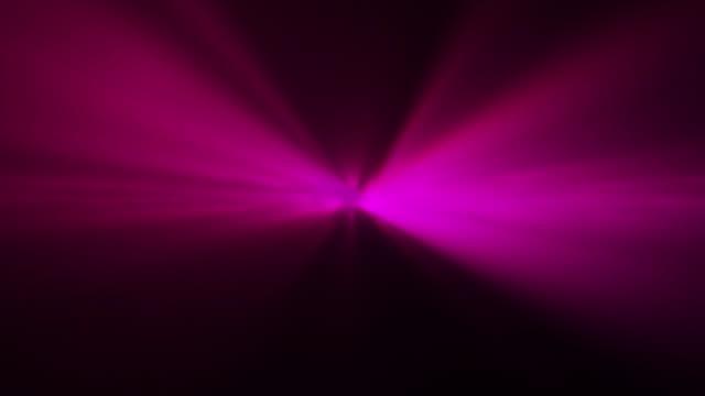 4k pink abstract laser spotlight background - magenta stock videos & royalty-free footage