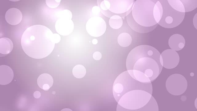 4k: Pink Abstract Lights bokeh background. Seamless Loop