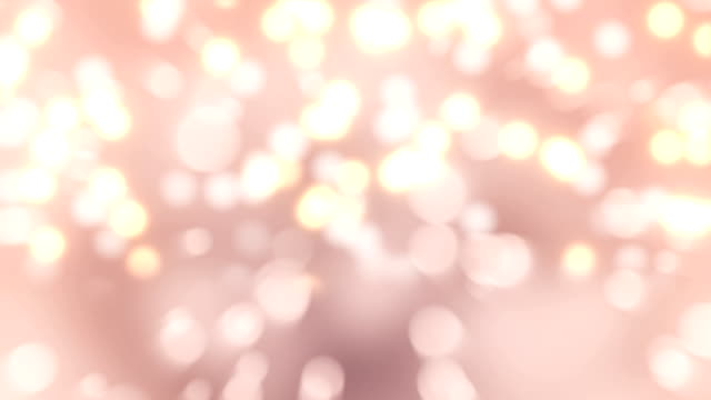 4k pink bokeh abstract light background - glowing stock videos & royalty-free footage