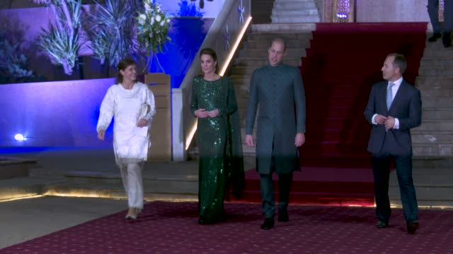 PAK: Reception Hosted by the British High Commissioner to Pakistan - The Duke and Duchess of Cambridge visit Pakistan""