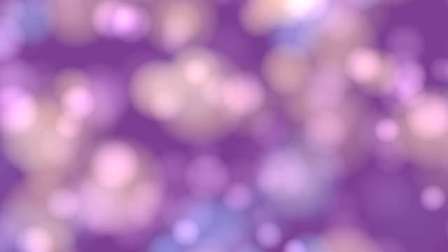4 k lila abstrakte Lichter Bokeh Weihnachten Hintergrund