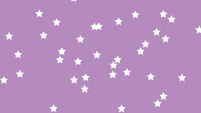 4k purple pastel star background - pastel colored stock videos & royalty-free footage