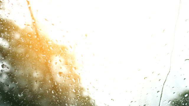 4k rain drop on mirror background - day stock videos & royalty-free footage