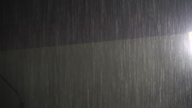 4k Rainy in night time.