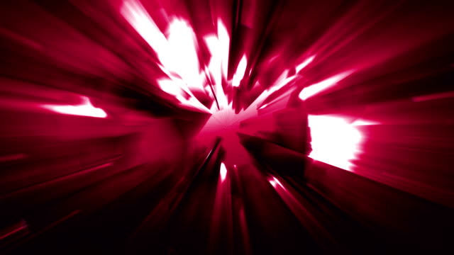 4k red energy effect background with power source tech spreading geometrical shapes triangles and rectangles and light leaks from the energy source before the explosion loopable video, sci-fi, techno,music event,energy,transportation,celebration concepts - transportation event stock videos and b-roll footage
