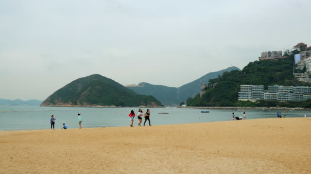 4k Repulse Bay Beach is a tourist attraction in Hong Kong, it is located on Hong Kong Island.