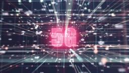 4k resolution 5G network wireless systems connecting together