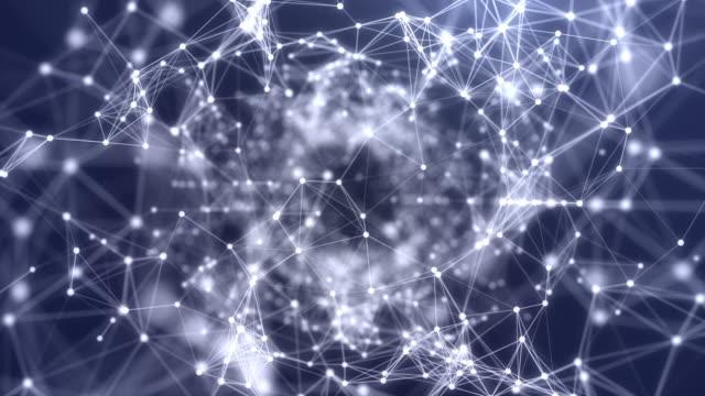 4k-auflösung abstract moving digital futuristic für business science und technologie - entwicklung stock-videos und b-roll-filmmaterial