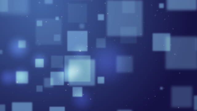 4k resolution blue background abstract square form,abstract  background for business science or technology - rectangle stock videos and b-roll footage