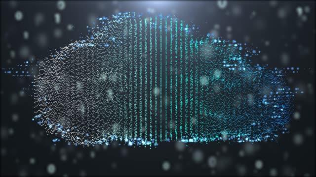 4 k resolutie futuristische cloud technologie digitale netwerk technologie achtergrond, communicatie technologie illustratie abstracte achtergrond
