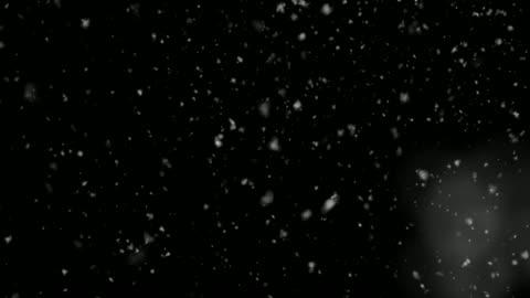 4k upplösning partikel abstrakt bakgrund av snöfall - snöflinga bildbanksvideor och videomaterial från bakom kulisserna