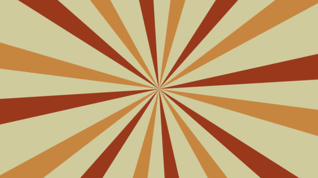 4k retro colorful circus colors sunburst orange yellow background - traditional festival stock videos & royalty-free footage
