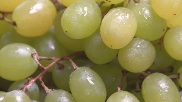 4k rotate of grape with water dew. - grape stock videos & royalty-free footage