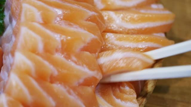 4k: Salmon Sashimi