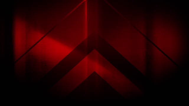 4k seamless, sparse pattern of high contrasted bizarre and grungy, sparse red arrow shape pointing up endless tunnel background video - music video stock videos & royalty-free footage