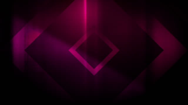 4k seamless, sparse pattern of high contrasted bizarre and grungy, magenta rectangle shape expanding toward camera endless tunnel background video - seamless pattern stock videos & royalty-free footage