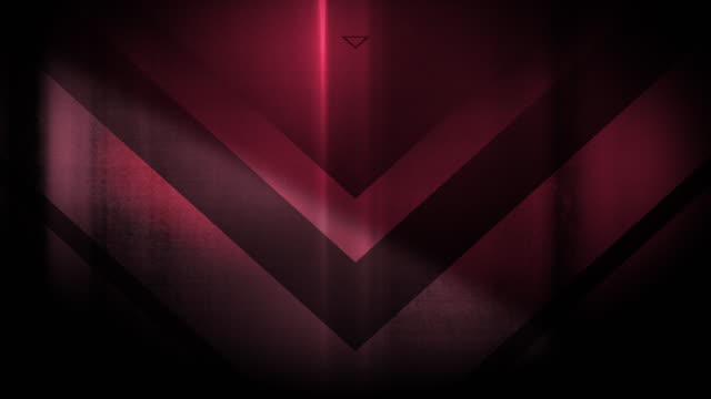 4k seamless, sparse pattern of high contrasted bizarre and grungy, sparse desaturated, light red arrow shape pointing down endless tunnel background video - music style stock videos and b-roll footage