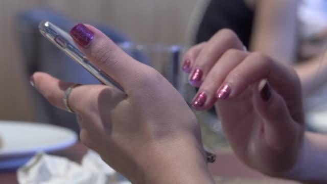 4k: smart phone close up