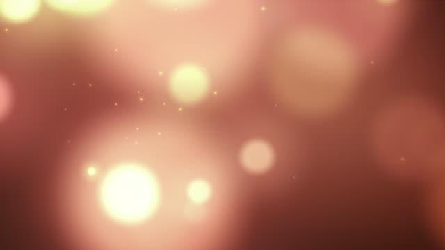 4k Sparking Gold Bokeh background with Flare Light for motion design work