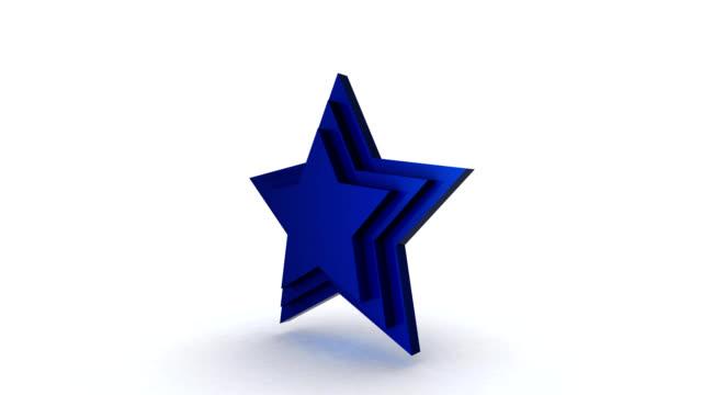 vidéos et rushes de k 4 étoiles - star shape