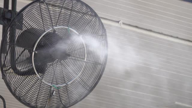 4k: steam fan - electric fan stock videos & royalty-free footage